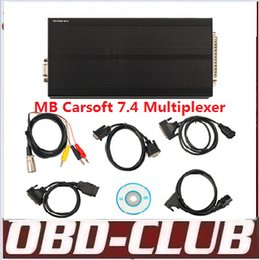 Wholesale Renault Reading - Best MB Carsoft 7.4 Multiplexer Read Erase All Fault Codes Read Ecu Information Free shipping