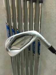 Wholesale Wholesale Golf Irons - Freeshipping 2017 brand Golf Irons Clubs JPX900 Golf Forged Irons With Steel Shaft and headcover JPX900 with all kings of steel shafts