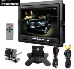 "Wholesale Night Vision Car Camera System - 7"" TFT LCD Monitor Car Rear View System Back Up Reverse Camera Night Vision"