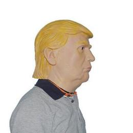 Wholesale President Masks - NEW USA President Candidate Mr Trump Latex mask Halloween Mask Latex Face Mask Billionaire Presidential Donald Trump