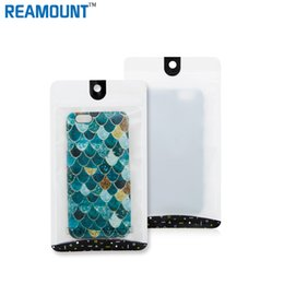 Wholesale Cell Phone Armband Clip - Plastic zipper Bag Cell Phone Accessories Mobile Phone Case Cover Packaging Package Bag for iphone 6s 6s plus for iphone 7 7plus