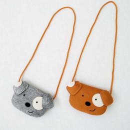 Wholesale Woven Baby - Dog Baby Boys Bags New Cartoon Girls Mini Bag Fashion Stereo Dogs Kids Messenger Bag Cute Single-shoulder Bags Casual Bag C620
