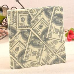 Wholesale Dollar Tissue Paper - Wholesale- New Personalized dollar Paper Napkin Festive & Party Tissue Napkins Decoupage Decoration Paper 33cm*33cm 20pcs pack lot