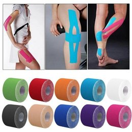 Wholesale Tex Tape Wholesale - Free shipping 200pcs lot high quality water proof 5cmx5m kinesio tape kinesio tex tape kinesiology sport