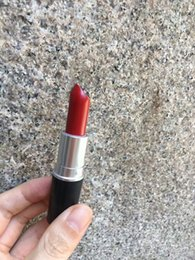 Wholesale High Luster - 2017 Hot High Quality Makeup Luster Lipstick RUBY WOO velvet teddy honey love Frost Matte Lipstick 3g with english name 18 color choose