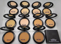 Wholesale Pressed Powder Plus Foundation - Makeup Studio Fix Face Powder Plus Foundation Brighten Face Powder Pressed Oil-control Mineralize Powder Cosmetics High Quality 15g