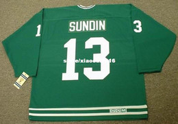 Wholesale Pat Mat - Cheap custom retro MATS SUNDIN Toronto St. Pats CCM Vintage Jerseys Throwback Jerseys Throwback Mens stitched Hockey Jersey