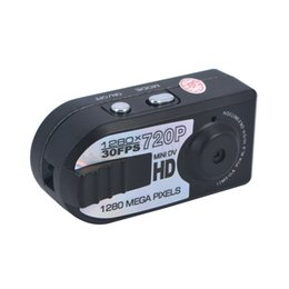 Wholesale camera miniature - Wholesale-HD 720P Mini DV Q5 DVR Camcorder Night miniature Mini Camera infrared night vision camera shoot