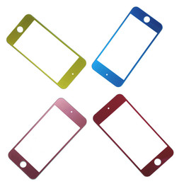 Wholesale Iphone Front Glass Colors - Multi-colors Front Outer Screen Glass Lens Cover (Not include LCD Digitizer) for iPod Touch 5 5G 5th Replacement With Free Tools