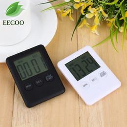 2 цвета квадратный большой ЖК-цифровой кухонный таймер Таймер приготовления пищи с Магнитом от Поставщики магнитный таймер
