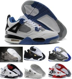 Wholesale Aa Basketball - Classic Basketball Shoes Retro 4 Sports Sneakers Best price Men Retros Shoes Man Zapatillas Authentic Original Real Replicas