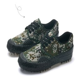 Wholesale Ankle Boots 11 Men - camouflage work shoes training shoes canvas rubber bottom lace-up shoes size6-11 man