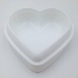 Wholesale heart cake mould - Love Heart Shape Mousse Bread Mould Silicone Baking Pastry Cake Mold Bakeware DIY Non-Stick Cake Pan