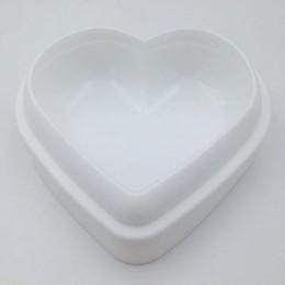 Moule à coeur en Ligne-Love Heart Shape Mousse Moule À Pain De Silicone De Pâtisserie Moule À Gâteau Moule