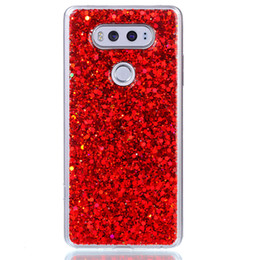 2019 scheibe fall Mode flash slice telefon case für fundas lg v20 abdeckung acryl weiches tpu silikon handy case für coque lg v20 rabatt scheibe fall