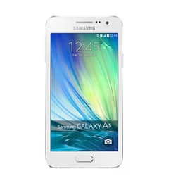 "Wholesale Original Android Os - Original Samsung Galaxy A300F A3000 4G LTE Dual SIM Smartphone Quad-Core Android 4.4 OS 4.5"" 8GB 16GB 8.0MP Camera Cell Phone refurbished"