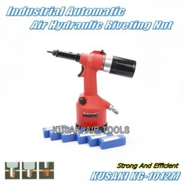 Wholesale Rivets 12mm - KUSAKI KG-1012M 3mm~12mm Pneumatic Riveters Nut   High Strength Hydraulic Automatic Air Rivet Nut