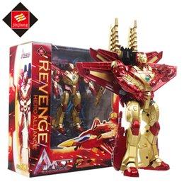 Wholesale Avenger Toys - Hot Deformation robot Gifts movie 4 Iron Man Avenger Hero Alliance Eagle aircraft model toys 1.9KG