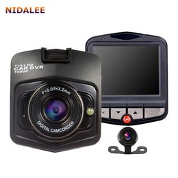 Wholesale digital camcorder microphone - GT300 Car Dvr Digital Video Recorder Night Vision Cameras Auto Registrator Camcorder HD 1080P Original G sensor 20PCS LOT
