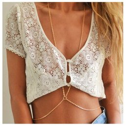 Wholesale Women Belly Chain Jewelry - 4 designs Fashion jewelry women`s belly chains foxy beach bikini body chains,free shippinb by DHL