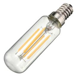 Vintage Edison Bombilla LED luz E14 T25 4W Ahorro de energía 400Lumen Retro lámpara bombilla iluminación de la lámpara Pure Warm White AC220V desde fabricantes