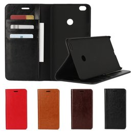 Wholesale Xperia Mobiles - Xiaomi Max 2 Phone Case Wallet Mi Mix Note Leather Anti Drop Kickstand Shockproof Flip Cover for Mobile Phone Sony Xperia xz Shell OPP Bag