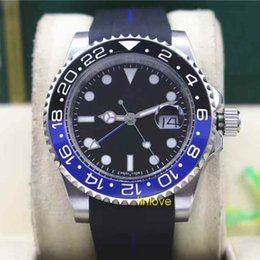 Wholesale High Power Watches - 2017 High Quality luxury brand for men's watch rubber strap fashion watch series automatic mechanical Mens Watches