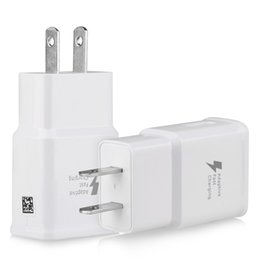 Wholesale Universal Chargers For Cell Phones - For iPhone 5 6 7 Fast Charger Adapter Fast USB Wall Charging US Plug S6 Quick Charge Travel Charger for cell phones For S6 S7