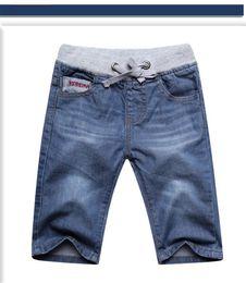 Wholesale Dhl Jeans - Boys jeans shorts childrens clothes pants summer boys boys jeans pants 2017 new fashion kid219 dhl