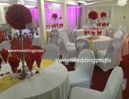 Wholesale Glass Vase Black - no flowers including )Party Wedding Decor flower glass vase stand