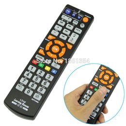 Wholesale learning universal remote controller - Wholesale- 2016 High Quality Remote Control Controller With Learn Function High Quality Replacement Remote Control For Smart TV DVD SAT