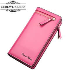 Wholesale Multi Function Women Fashion Wallet - Wholesale- New Fashion Women's Wallet Long Section Wallets Multi-function Purse PU Zipper Clutch #293