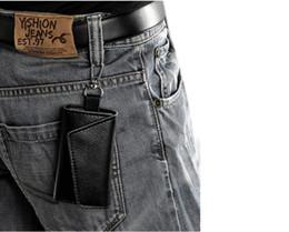 Wholesale Mens Car Key Wallets - The car key bag leather waist hanging manufacturers wholesale custom Mens multi function key bag mass special card bag