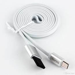 usb-schnittstellen-datenkabel Rabatt DiGiYes 1M / 3Ft Micro-USB-Datenkabel Doppelseitiges, umkehrbares USB 2.0 A Flaches, verwicklungsfreies Sync- und Ladekabel mit Micro-Schnittstelle CPA_269