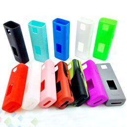 Wholesale Joyetech Cases - Colorful Joyetech Cuboid Mini 80W Silicone Case Protective Sleeve Cover for Cuboid Mini Battery Temperature Control Box Mod DHL Free