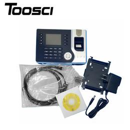 Wholesale Time Clock Machine Fingerprint - A-C071 TCP IP Biometric Fingerprint Time Clock Recorder Attendance Employee Electronic Punch Reader Machine Attendance machine