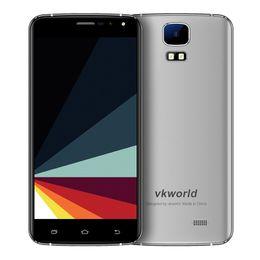 Wholesale S3 3g Dual Sim - Original VKworld S3 Android 7.0 IPS MTK6580A Quad Core 3G SmartPhone 5.5 Inch HD 1GB RAM 8GB ROM 13MP OTA GPS WCDMA Mobile Phone