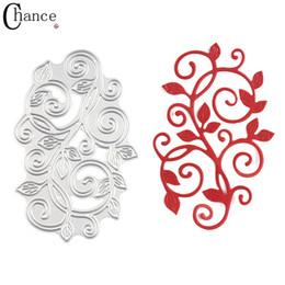 Wholesale Craft Card Designs - Leaves Lace Design Metal Die Cutting Dies Stencils Template for Scrapbooking Card Embossing Folder troqueles Metal Craft Dies