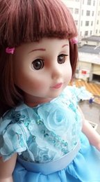 Wholesale Baby Girl Talking - Talking doll barbie girl intelligence will dialogue cloth doll barbiedoll girl children toys simulation and childrens' best friend
