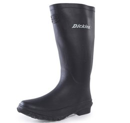 Wholesale Tall Rainboots - Wholesale- New Arrivals Men Fashion Rubber Rain Boots Knee-high Flat Heels Non-slip Rainboots Women Tall Water Shoes Wellies #TR132