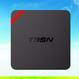 Wholesale Dvb Tv Mini Receiver - T95N Mini MX Plus Amlogic S905 Android TV Box Quad Core UHD 4K Media Player KODI XBMC Full loaded Smart TV Box