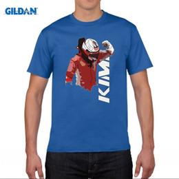 Wholesale F1 Crew Shirt - Formula 1 For Man Casual Kimi Raikkonen F1 T Shirts Tee Shirts Plus Size Cool Men's Tee Shirts