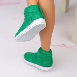 Wholesale Shoes For Male Babies - 1Pair Fashion Prince Doll Shoes Sneakers for Ken doll Shoes Male Dolls Accessories For Barbie Boyfriend Baby Toy Shoes Brand New
