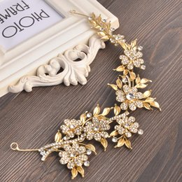 Wholesale hair crowns for brides - bridal hair accessories bridal headbands crowns tiaras for wedding headdress for bride dress headdress accessories party accessories