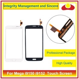 Wholesale galaxy mega digitizer - For Samsung Galaxy Mega 5.8 i9150 i9152 GT-i9150 GT-i9152 Touch Screen Digitizer Outer Glass Lens Panel Free Shipping