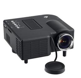 Excelvan mini projecteur led en Ligne-Excelvan GM40 Mini Pico Projecteur Home Cinéma Théâtre Numérique LED LCD Projecteur VGA / USB / SD / AV / HDMI Multimédia Projecteur DHL gratuit