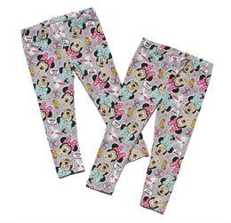 Wholesale Bohemian Pants Pattern - New Autumn Girl Leggings Cartoon Pattern Kids Pants 100% Cotton Top Quality 2 Styles 6 p l