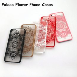 Wholesale Blue Henna - New Vintage Flower Pattern phone case Beautiful Floral Henna Paisley Mandala Palace Flower TPU case COVER for iPhone 6 iphone 7 7plus