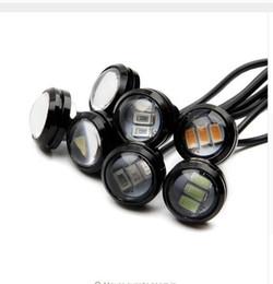 Wholesale Led Daytime Hyundai - wholesale 23MM Waterproof LED Eagle Eye 3led LED Daytime running Lights Source DRL Car Parking Lamp for vw ford toyota audi hyundai
