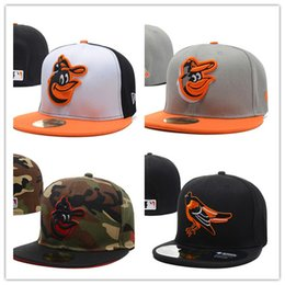 Wholesale 2017 New style baseball hat Baltimore Orioles adjustable baseball Fitted hats Fast recovery baseball CAPS Snapback Hats Caps Men